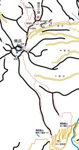 中ノ湯・焼岳概念図20120729版