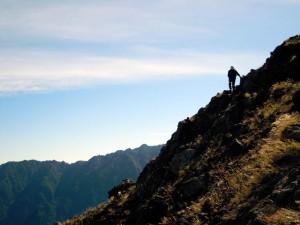 焼岳の頂上まで後少し