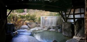 中尾温泉郷・焼乃湯の露天風呂(2000年頃)