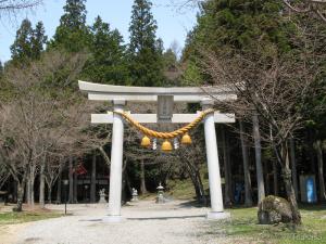 中尾・白山神社鳥居